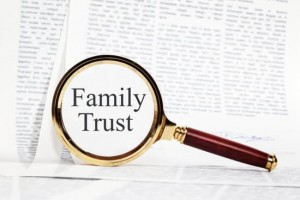 Can a trust give notice to terminate a tenancy?